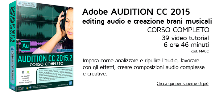 Corso completo Audition CC 2015